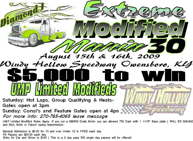 Windy Hollow Limited Mod Flyer