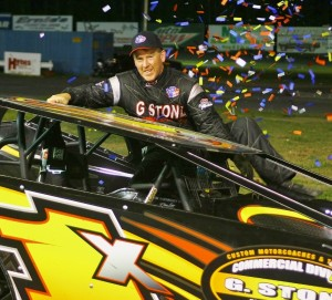Todd Stone in Victory Lane
